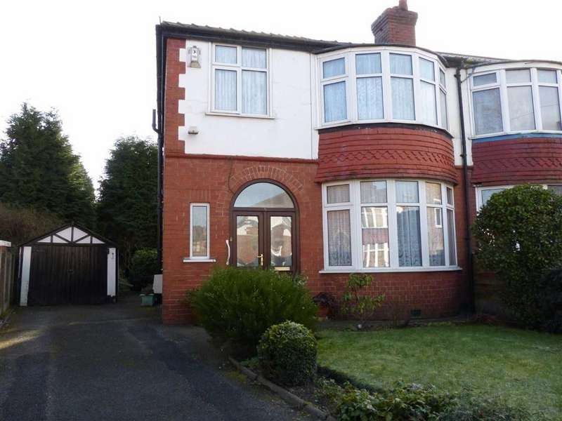 3 Bedrooms Semi Detached House for sale in Tealby Avenue, Old Trafford