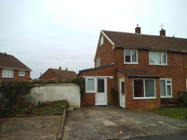 3 Bedrooms Semi Detached House for sale in Ael y Bryn, Bryntirion, Bridgend CF31