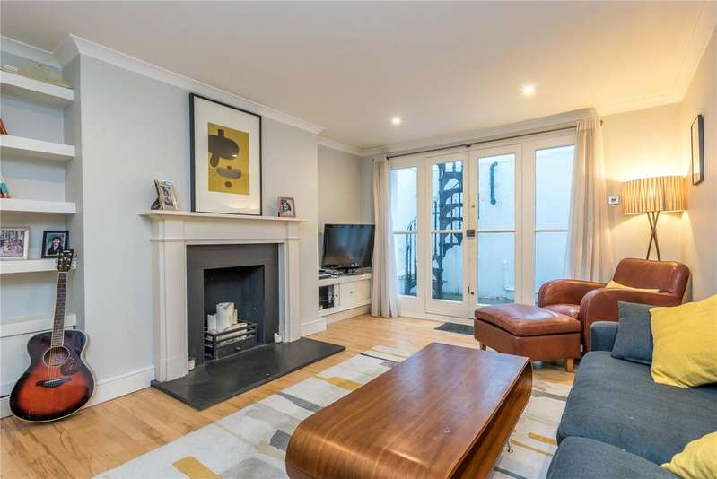 2 Bedrooms Flat for sale in Lonsdale Square, Islington, London, N1