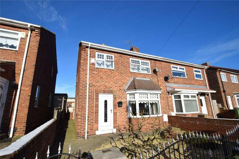 3 Bedrooms Semi Detached House for sale in Station Estate North, Murton, Seaham, Co Durham, SR7