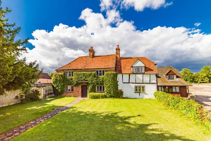 3 Bedrooms Detached House for sale in Owlscote Manor Farm House, Upton, OX11