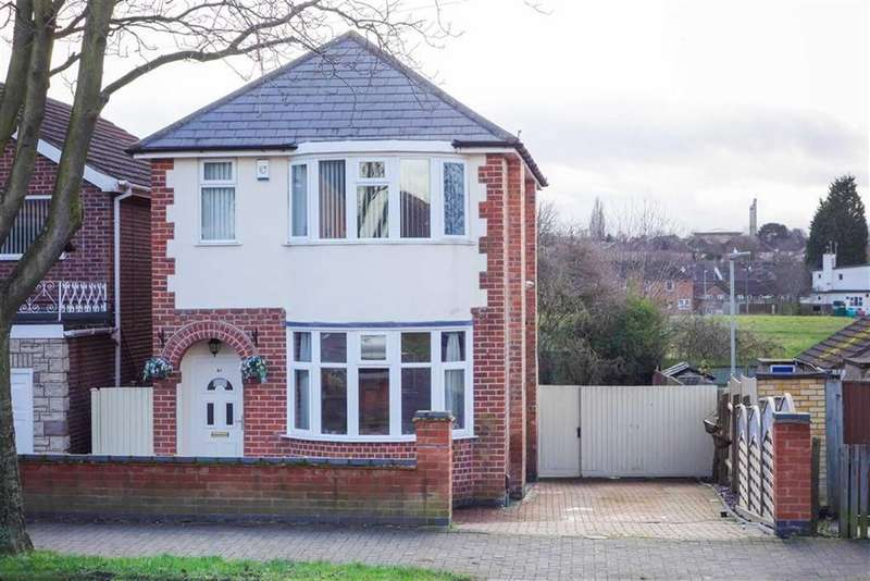 3 Bedrooms Detached House for sale in Thurncourt Road, Off Scraptoft Lane, Leicester