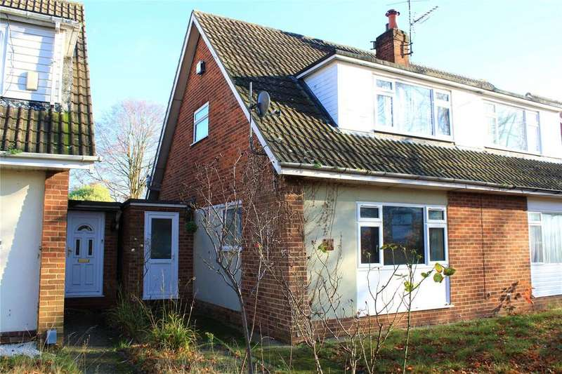 2 Bedrooms Semi Detached House for sale in Fairwater Drive, Woodley, Reading, Berkshire, RG5