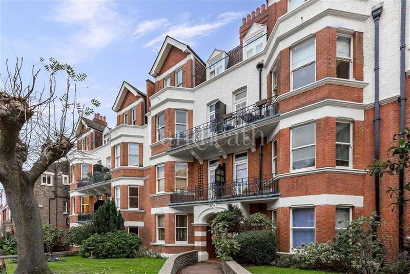 3 Bedrooms Flat for sale in Honeybourne Road, West Hampstead, London