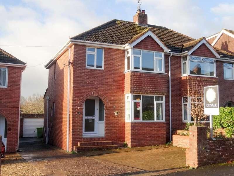 3 Bedrooms Semi Detached House for sale in Warwick Road, Heavitree, Drew Pearce 1748 Ltd, Exeter EX1