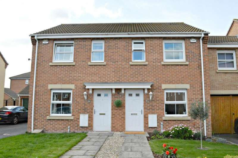 2 Bedrooms House for sale in Pennistone Place, Scartho Top, Grimsby, North East Lincolnshire, DN33