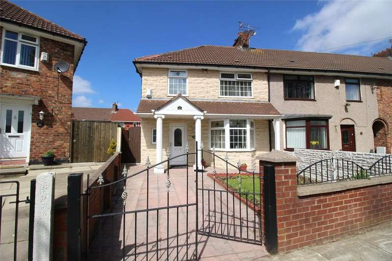 3 Bedrooms End Of Terrace House for sale in Circular Road West, Liverpool, Merseyside, L11
