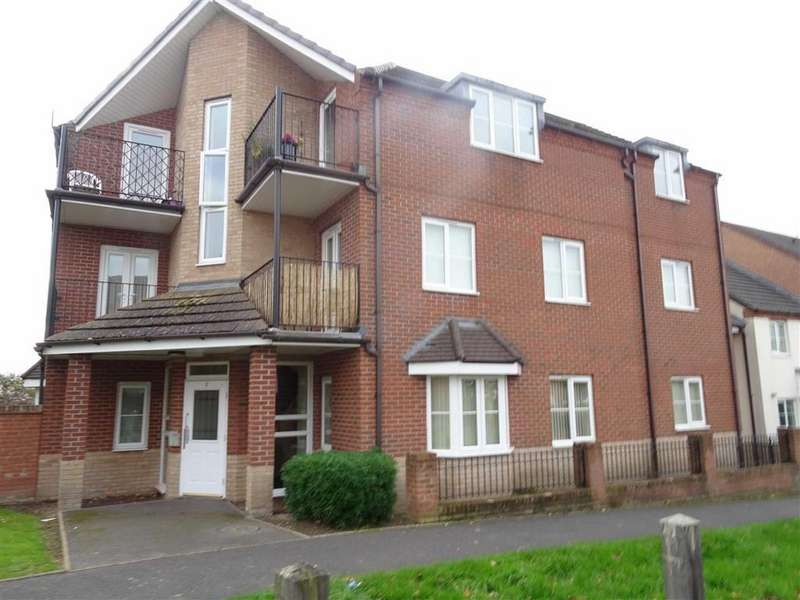 2 Bedrooms Flat for sale in Spruce Road, Nuneaton