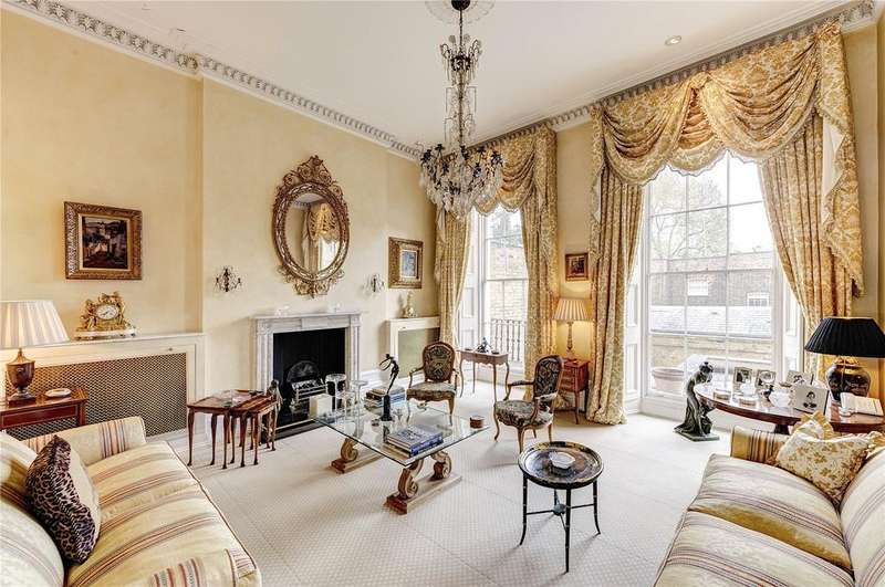 4 Bedrooms Terraced House for sale in Gloucester Gate, Regent's Park, London