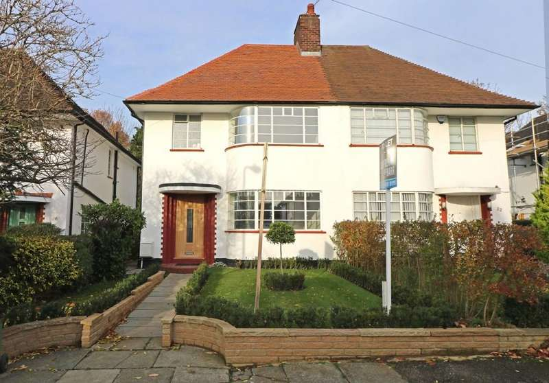 4 Bedrooms Semi Detached House for sale in Howard Walk, Hampstead Garden Suburb