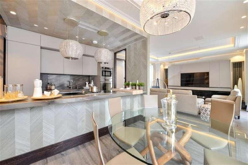 3 Bedrooms Flat for sale in Portman Mansions, Chiltern Street, Marylebone, London, W1U