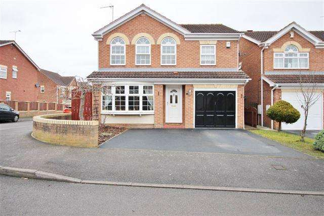 4 Bedrooms Detached House for sale in Ryan Drive, Woodhouse Mill, Sheffield, S13 9UZ