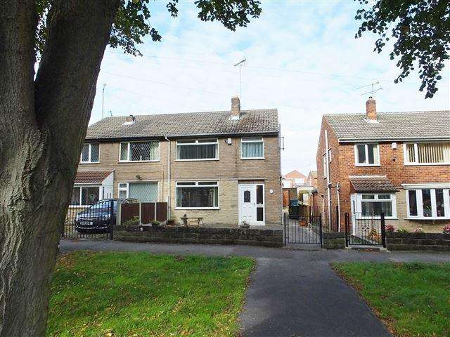 3 Bedrooms Semi Detached House for sale in Retford Road, Woodhouse Mill, Sheffield, S13 9WB