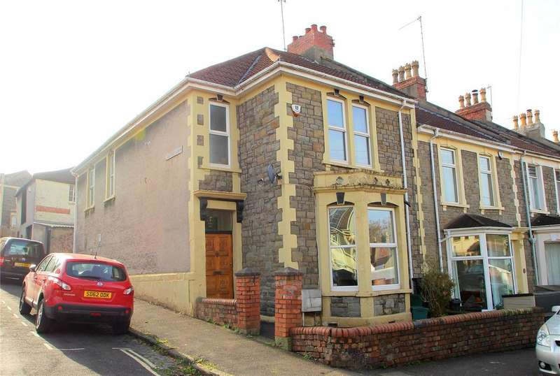 3 Bedrooms End Of Terrace House for sale in Allington Road, Southville, BRISTOL, BS3