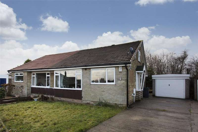 2 Bedrooms Semi Detached Bungalow for sale in Sunny Bank Parade, Mirfield, West Yorkshire, WF14