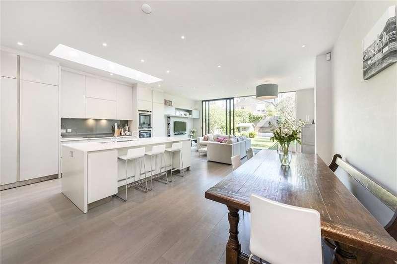 6 Bedrooms Semi Detached House for sale in Ellerby Street, 'Alphabet Streets', Bishops Park, Fulham, SW6