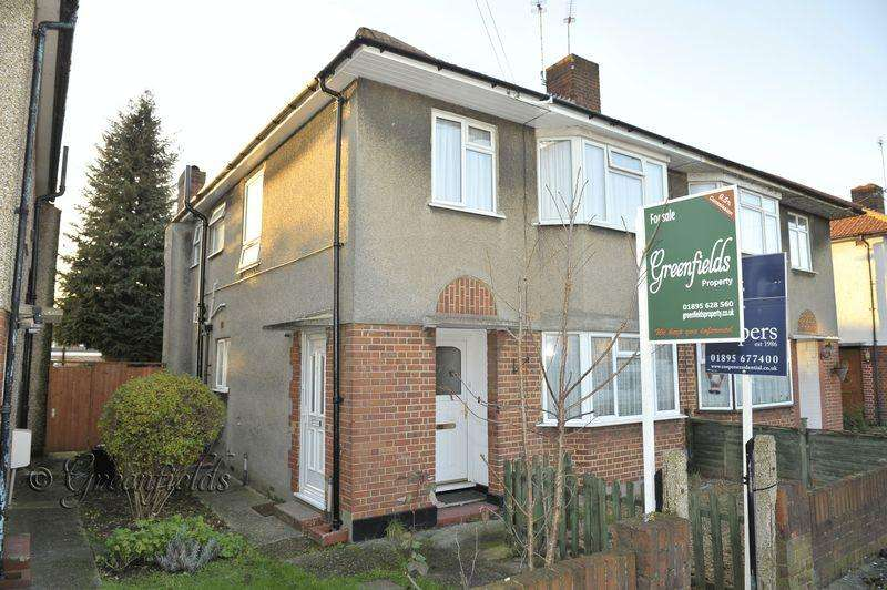 2 Bedrooms Maisonette Flat for sale in West End Road, South Ruislip