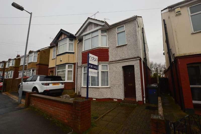 2 Bedrooms Semi Detached House for sale in Beverley Road, Luton, Bedfordshire, LU4 8EU