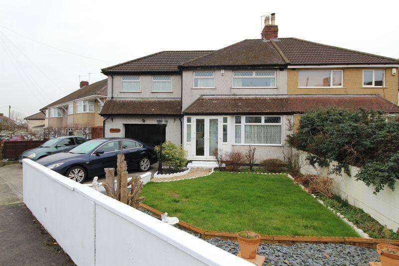 4 Bedrooms Semi Detached House for sale in Millbrook Avenue, Bristol