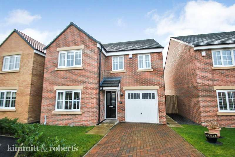 4 Bedrooms Detached House for sale in Cresta View, Lingfield Meadows, Houghton le Spring, DH5