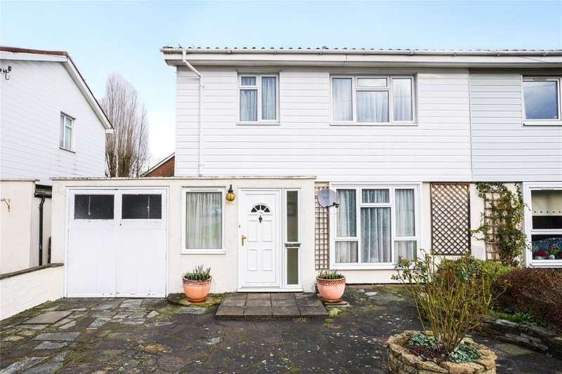 3 Bedrooms Semi Detached House for sale in Wyndham Avenue, Cobham, Surrey, KT11