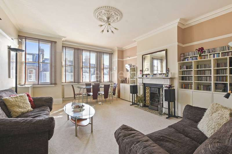 4 Bedrooms Flat for sale in Burrard Road, West Hampstead, London, NW6
