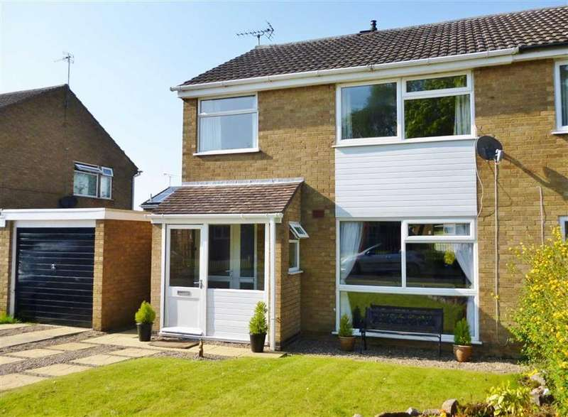 3 Bedrooms Semi Detached House for sale in Great Glen