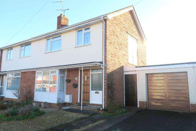 3 Bedrooms Semi Detached House for sale in Lawn Meadow, Ruishton, Taunton TA3
