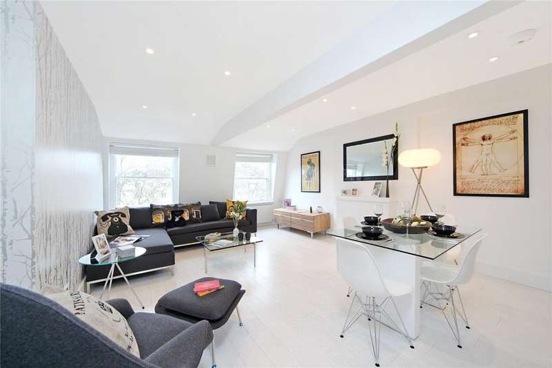2 Bedrooms Flat for sale in Hyde Park Square, The Hyde Park Estate, London