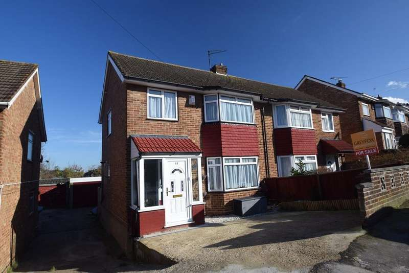 3 Bedrooms Semi Detached House for sale in Benenden Road, Wainscott, Rochester, ME2