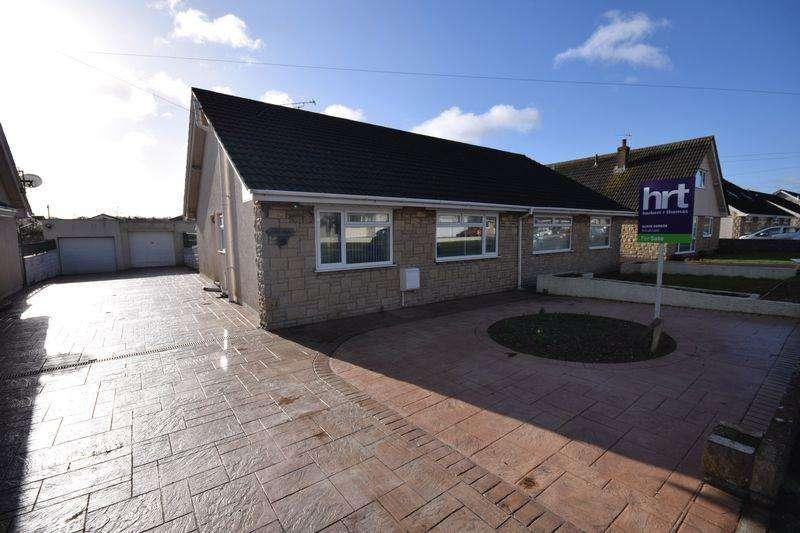 2 Bedrooms Semi Detached Bungalow for sale in Fulmar Road, Porthcawl
