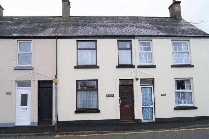 2 Bedrooms Terraced House for sale in Chwilog, Pwllheli