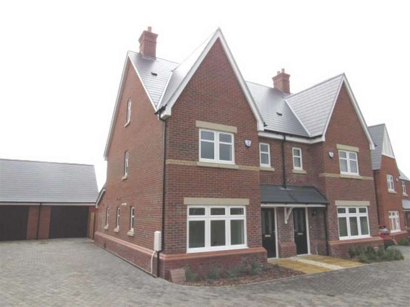 3 Bedrooms Semi Detached House for rent in Poppy Drive, Ampthill, Bedford