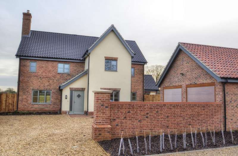 5 Bedrooms Detached House for sale in Cookes Road, Bergh Apton, Norwich