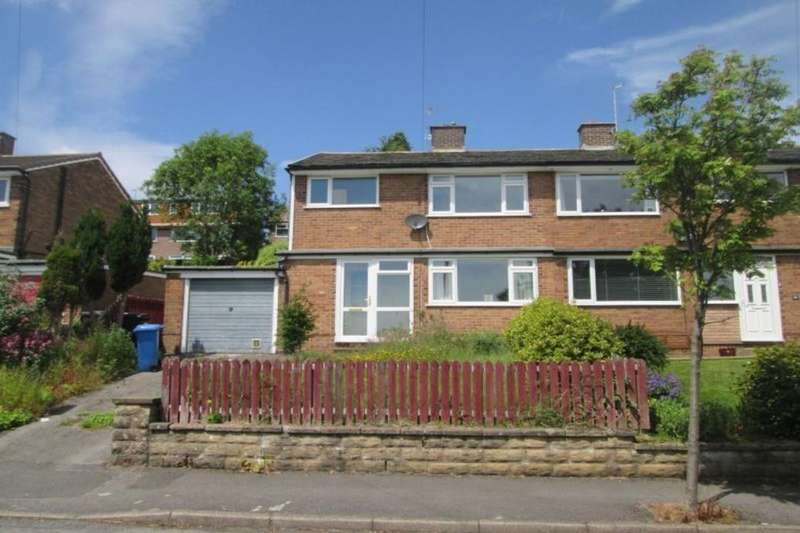 3 Bedrooms Semi Detached House for rent in Hallamshire Close, Sheffield, S10