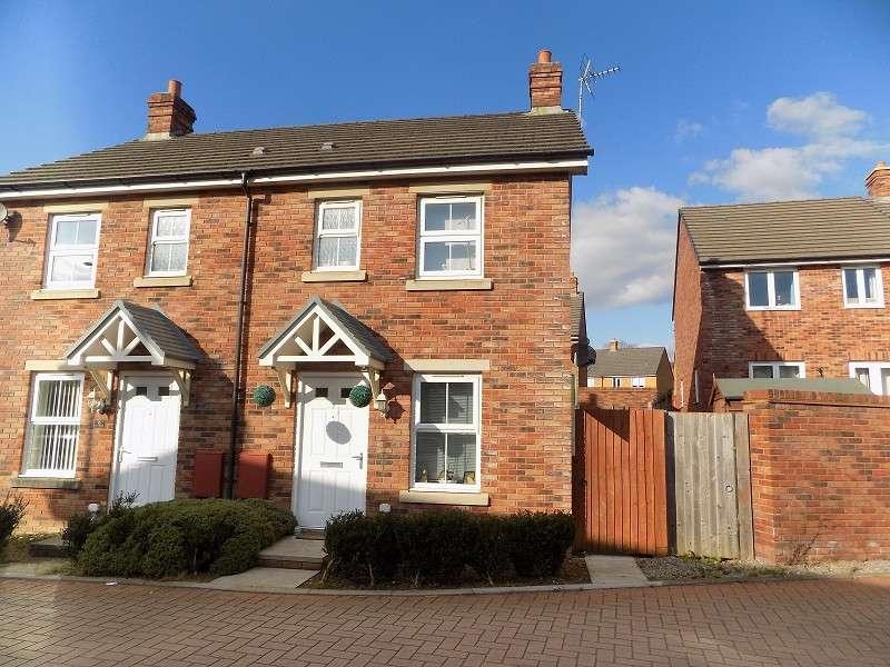 2 Bedrooms Semi Detached House for sale in Llys Y Dderwen , Coity, Bridgend. CF35 6DE