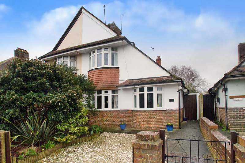 3 Bedrooms Semi Detached House for sale in Churchdale Road, Eastbourne