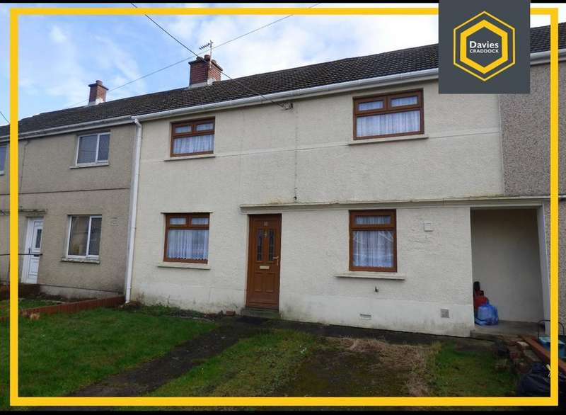 3 Bedrooms Terraced House for rent in Bron Gwendraeth, Carway, Kidwelly, SA17