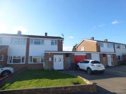 3 Bedrooms Semi Detached House for sale in Lordsmead, Cranfield, Bedford, Bedfordshire