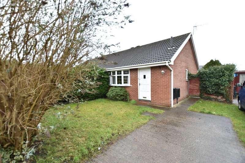 1 Bedroom Semi Detached Bungalow for sale in Shrewsbury Way, Saltney
