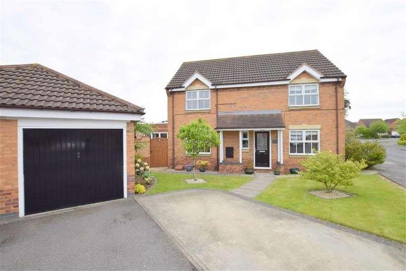 4 Bedrooms Detached House for sale in Tintagel Way, New Waltham, North East Lincolnshire