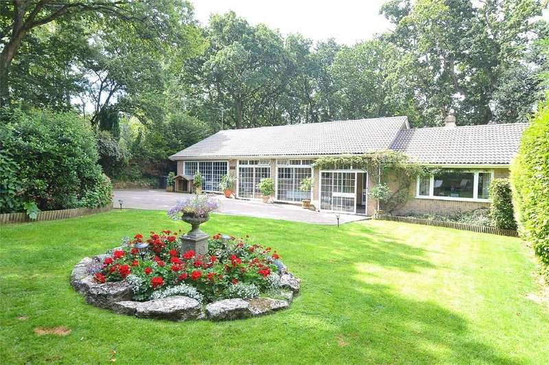 5 Bedrooms Detached Bungalow for sale in Higher Blandford Road, Corfe Mullen, WIMBORNE