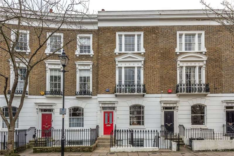4 Bedrooms Terraced House for sale in Thornhill Square, Islington, London, N1