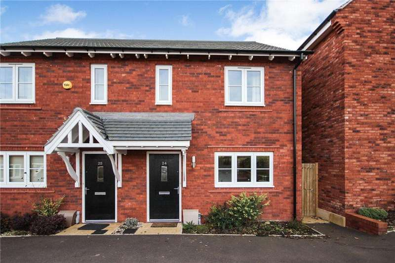 2 Bedrooms Semi Detached House for sale in Dowling Drive, Pershore, Worcestershire, WR10