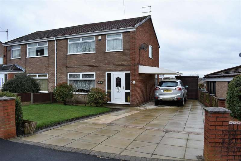 3 Bedrooms Semi Detached House for sale in Ansty Close, Laffak