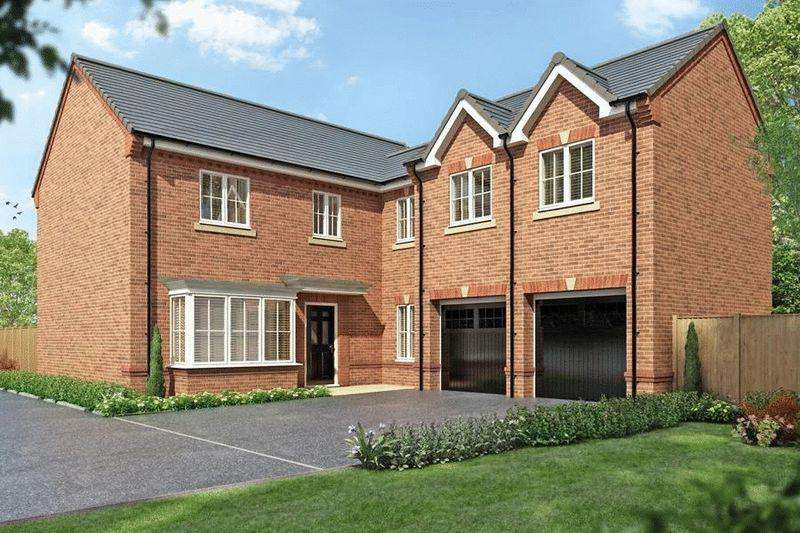 5 Bedrooms Detached House for sale in Jack Lane, Moulton Nr Davenham