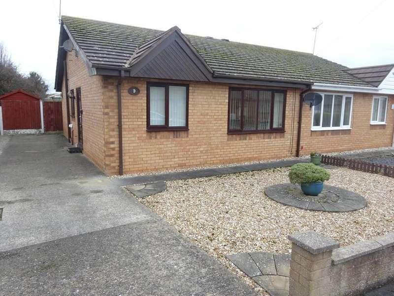 2 Bedrooms Semi Detached Bungalow for sale in Trem Cinmel, Towyn