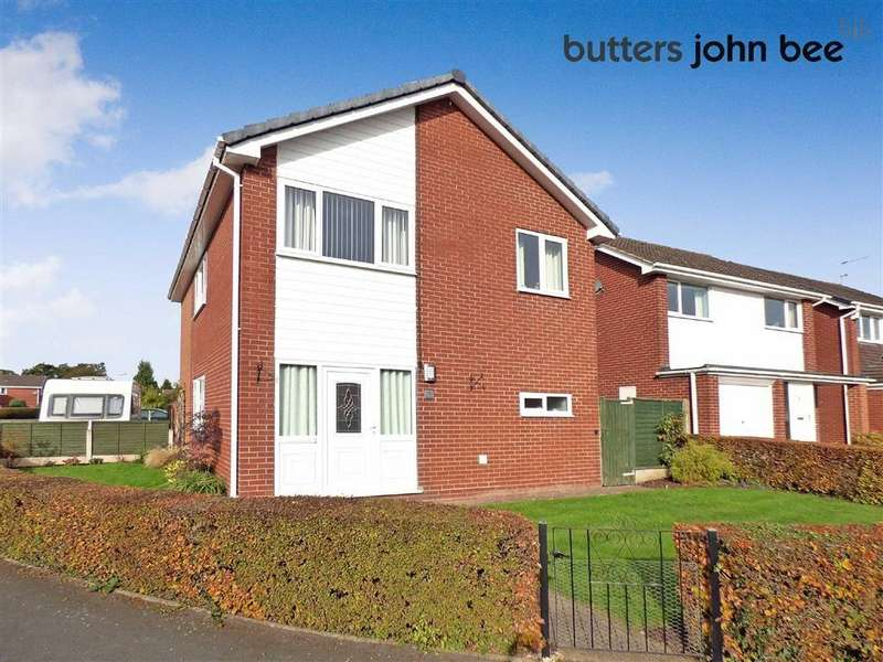 4 Bedrooms Detached House for sale in Ford Drive, Yarnfield, Staffordshire