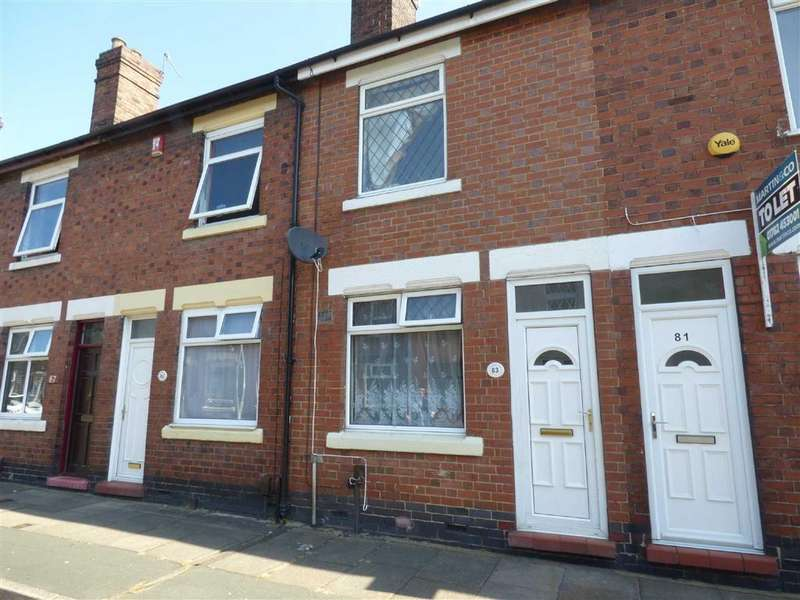 2 Bedrooms Terraced House for sale in Oldfield Street, Fenton