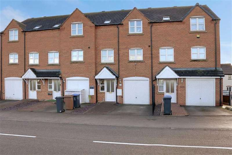 3 Bedrooms Town House for sale in Uttoxeter Road, Blythe Bridge